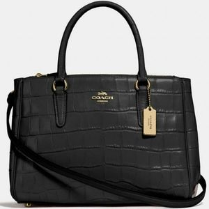 ✅❗NEW WITH TAGS❗●COACH CARRYALL CROSSBODY SATCHEL❗